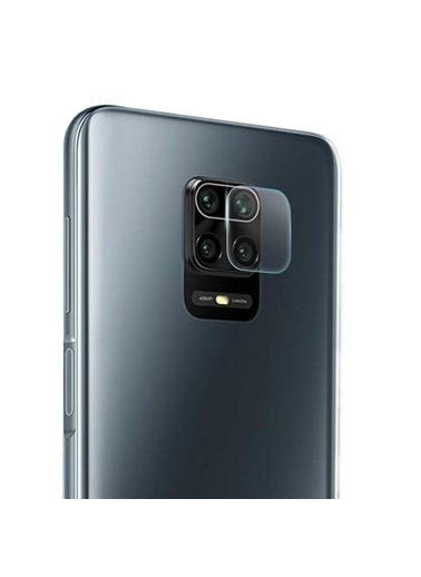 Microsonic Xiaomi Redmi Note 9 Pro Kamera Lens Koruma Camı Renksiz